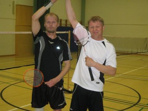 Miesten 4-pelin voittajat (27.5.2011)